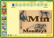 ABC mouse and alphabet puzzles
