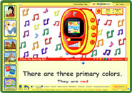 ABC mouse teaches colors