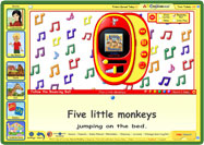 ABC mouse teaches through music