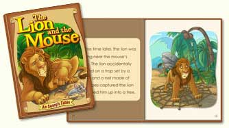 ABC mouse book: The Lion and the Mouse