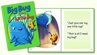 ABC mouse book: Big Bug and Little Bug