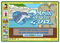 ABC mouse game: Dolphin Letter Quiz