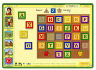 ABC mouse puzzle: Phonics Puzzle