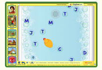 ABC mouse game: Alphabet Bubble Burst