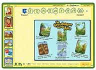ABC mouse puzzle: The Grasshopper and the Ants Puzzle