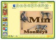 ABC mouse puzzle: M is for Monkeys