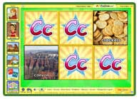 ABC mouse game: Letter C Matching Game