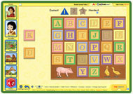 ABC mouse puzzle: ABC Blocks