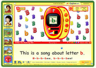 ABC mouse song: The Letter B