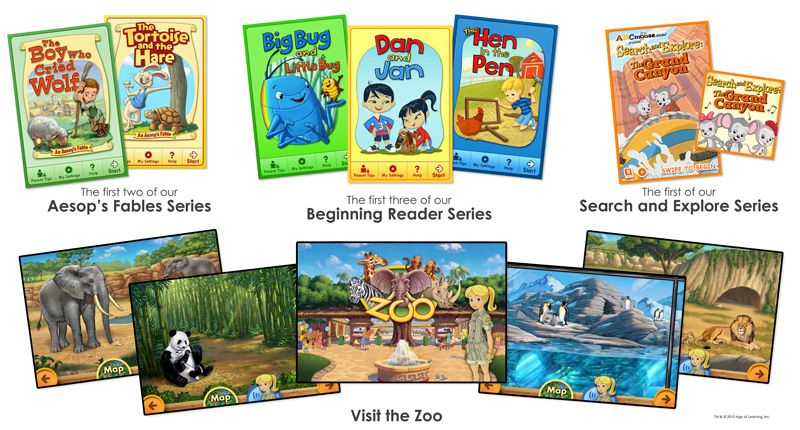 ABC mouse books and games