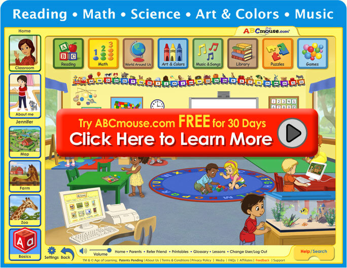 ABCmouse: Kids Learning, Phonics, Educational Games, Preschool-Kindergarten Reading