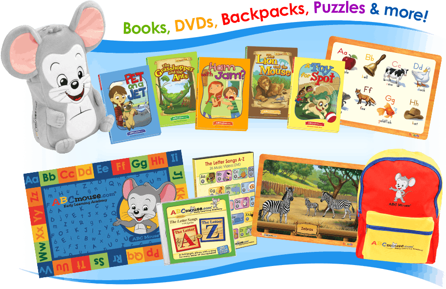 Image of ABCmouse Merchandise