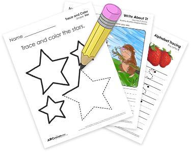 abcmousecom has more than 2000 printable activities across reading math art and colors and more we encourage children to continue their learning