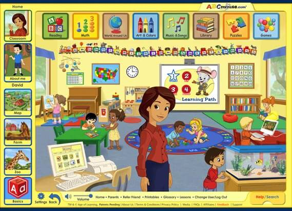 ABC mouse classroom