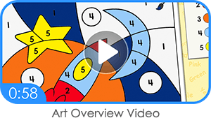 ABC mouse art overview video