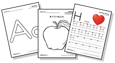 word sight  worksheets Words own & create your Letters