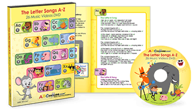 The Letter Songs A to Z DVD